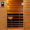 2-Person Clearlight Premier Full Spectrum Sauna Cedar thumb 1