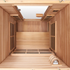 2-Person Clearlight Premier Full Spectrum Sauna Cedar thumb 4