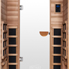 2-Person Clearlight Premier Full Spectrum Sauna Cedar thumb 6