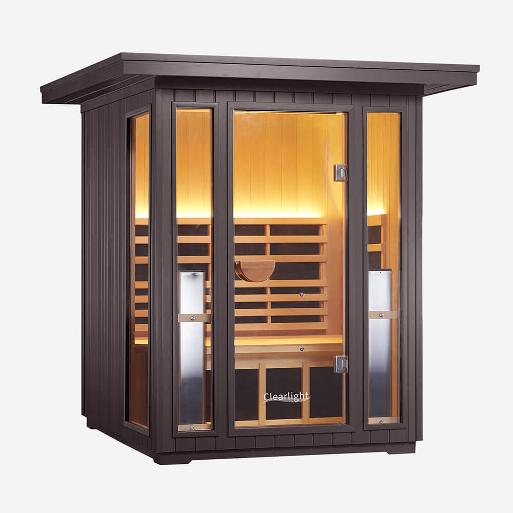 2-Person Outdoor Sauna Cedar 1