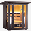 2-Person Outdoor Sauna Cedar thumb 1