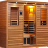 5-Person Clearlight Premier Full Spectrum Sauna Cedar thumb 3