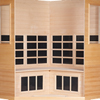3-4-Person Essential CE Corner Sauna Cedar thumb 6